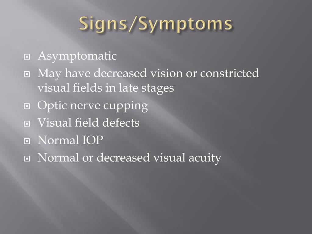 Signs/Symptoms