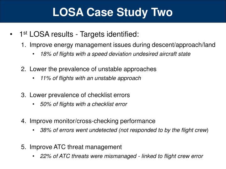 LOSA Case Study Two