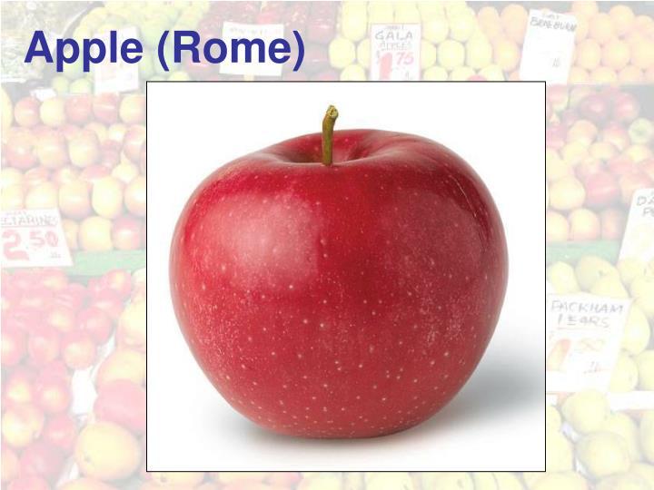 Apple (Rome)
