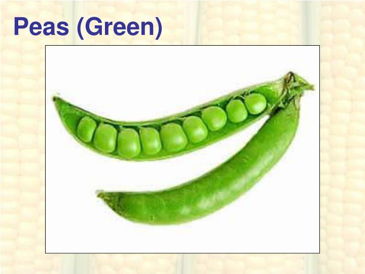 Peas (Green)