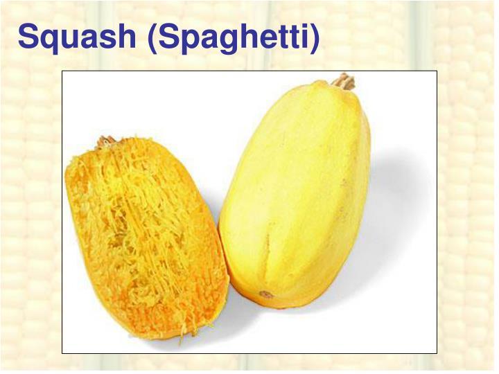 Squash (Spaghetti)