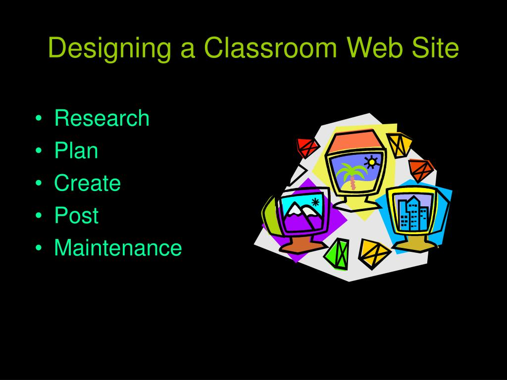 Designing a Classroom Web Site