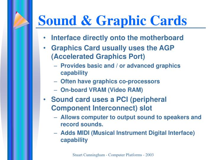 Sound & Graphic Cards