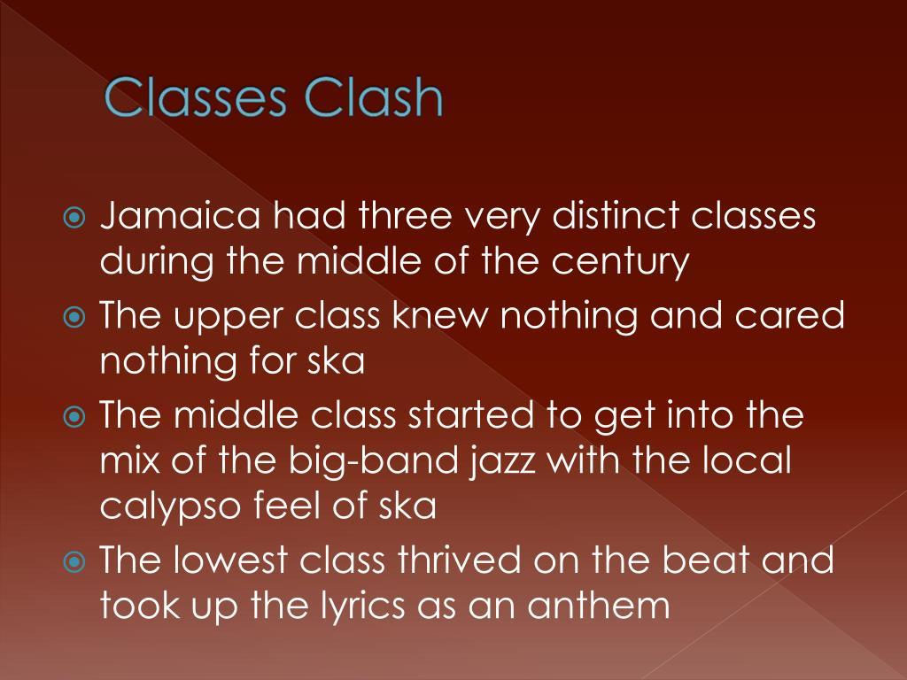 Classes Clash