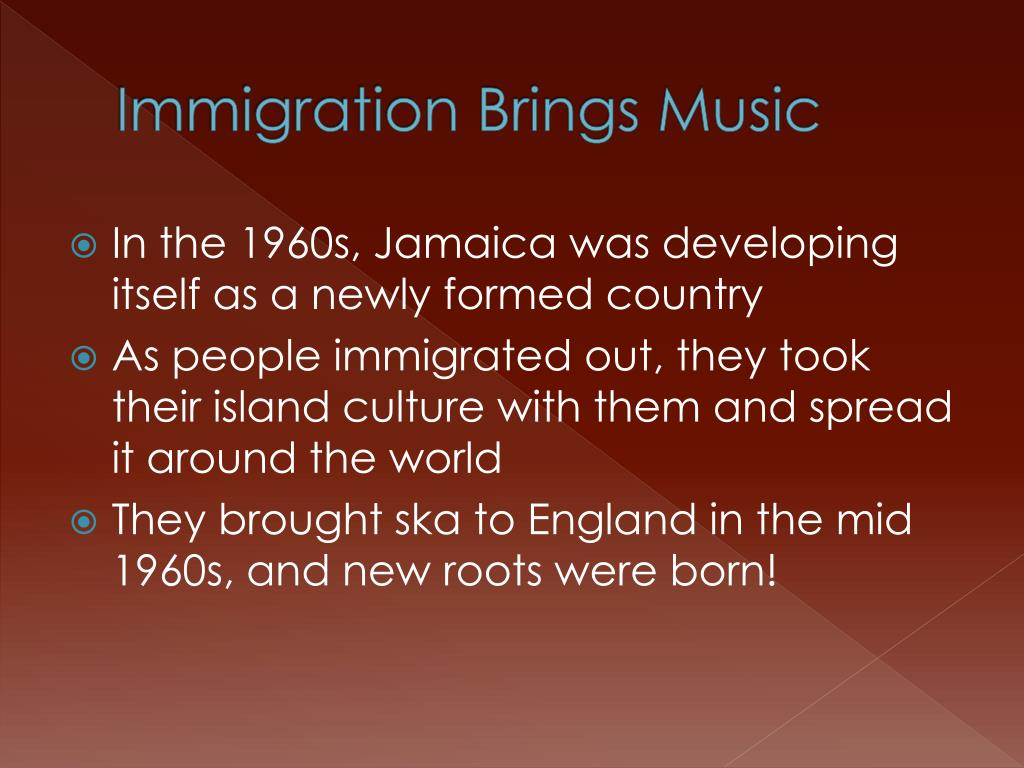 Immigration Brings Music