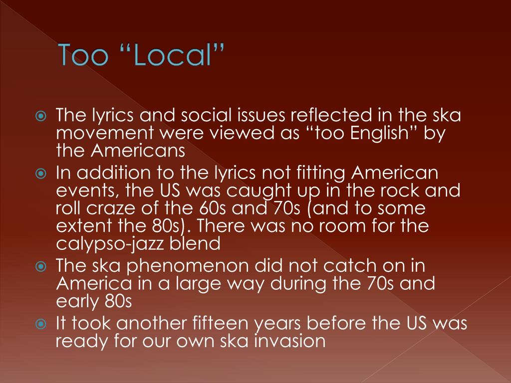 """Too """"Local"""""""