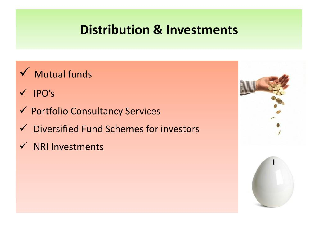Distribution & Investments