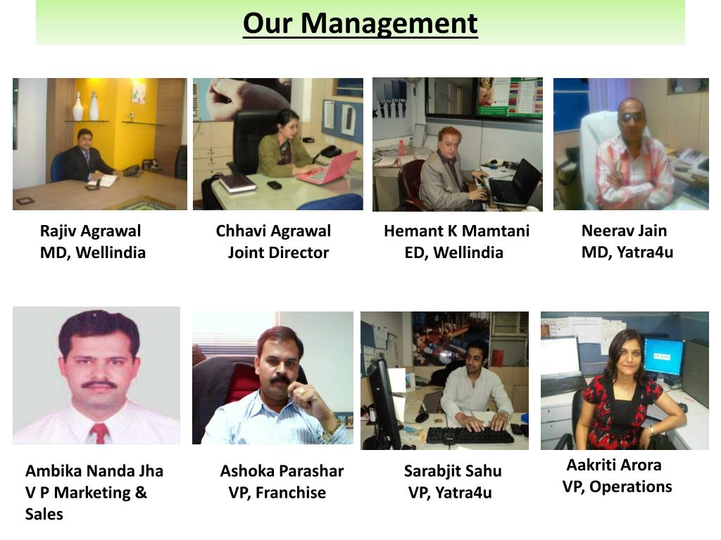 Our Management