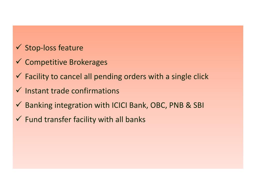 Stop-loss feature