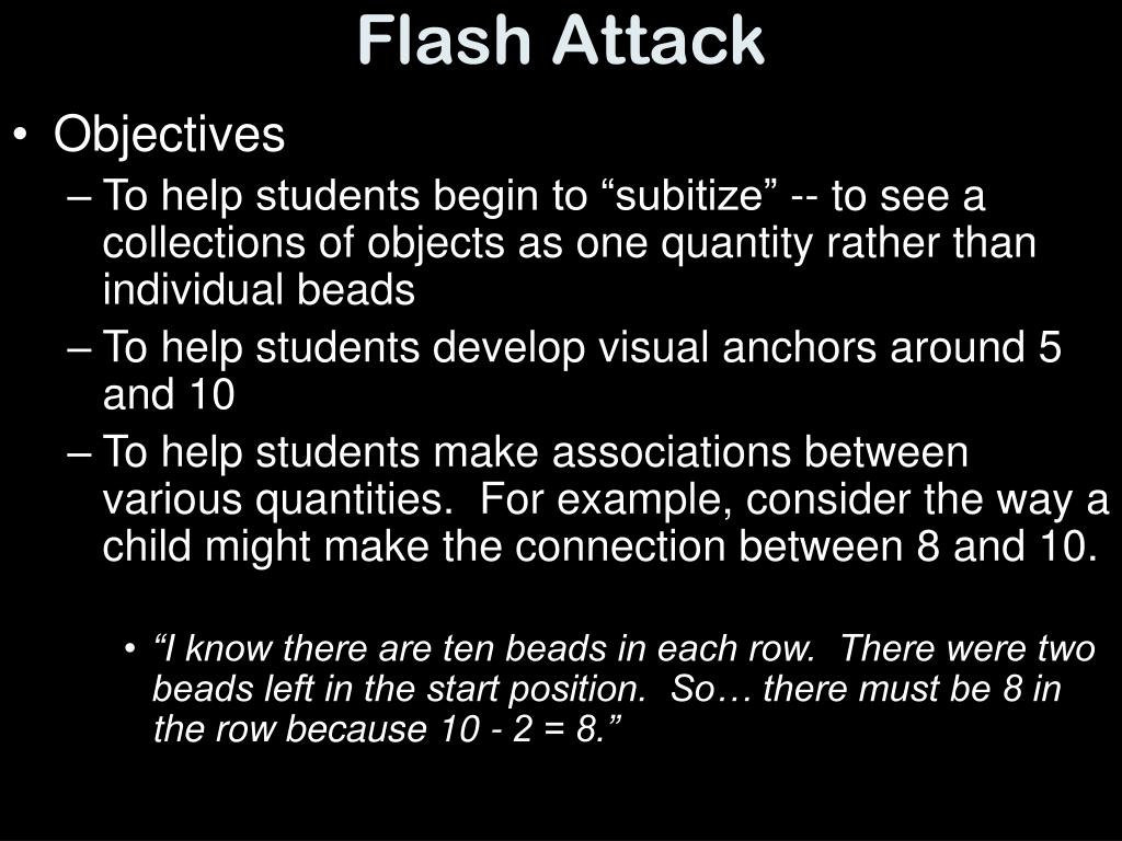 Flash Attack