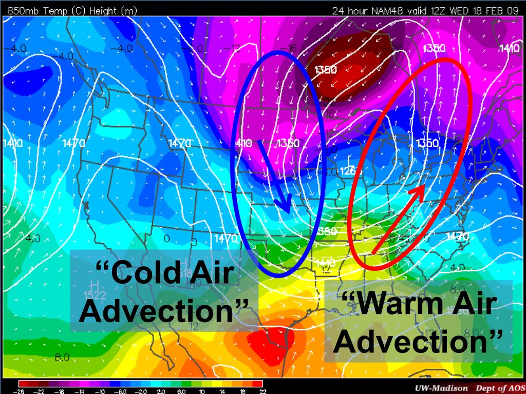 """Cold Air Advection"""