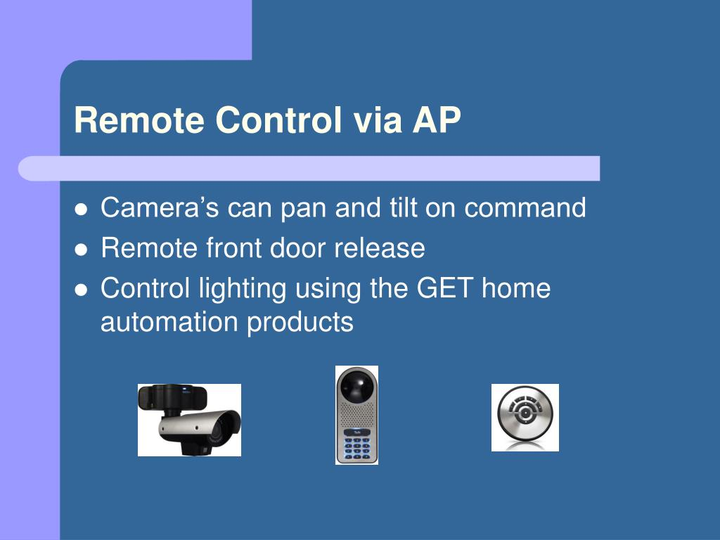 Remote Control via AP
