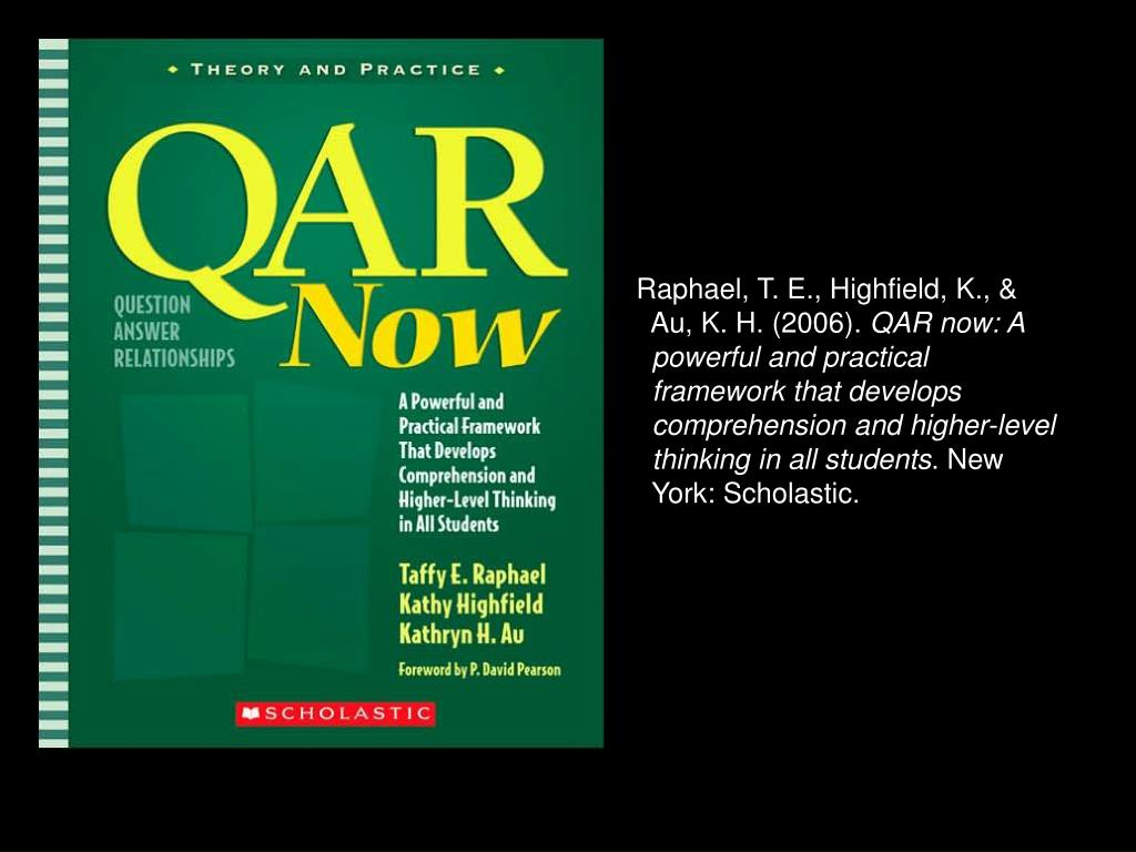 Raphael, T. E., Highfield, K., &