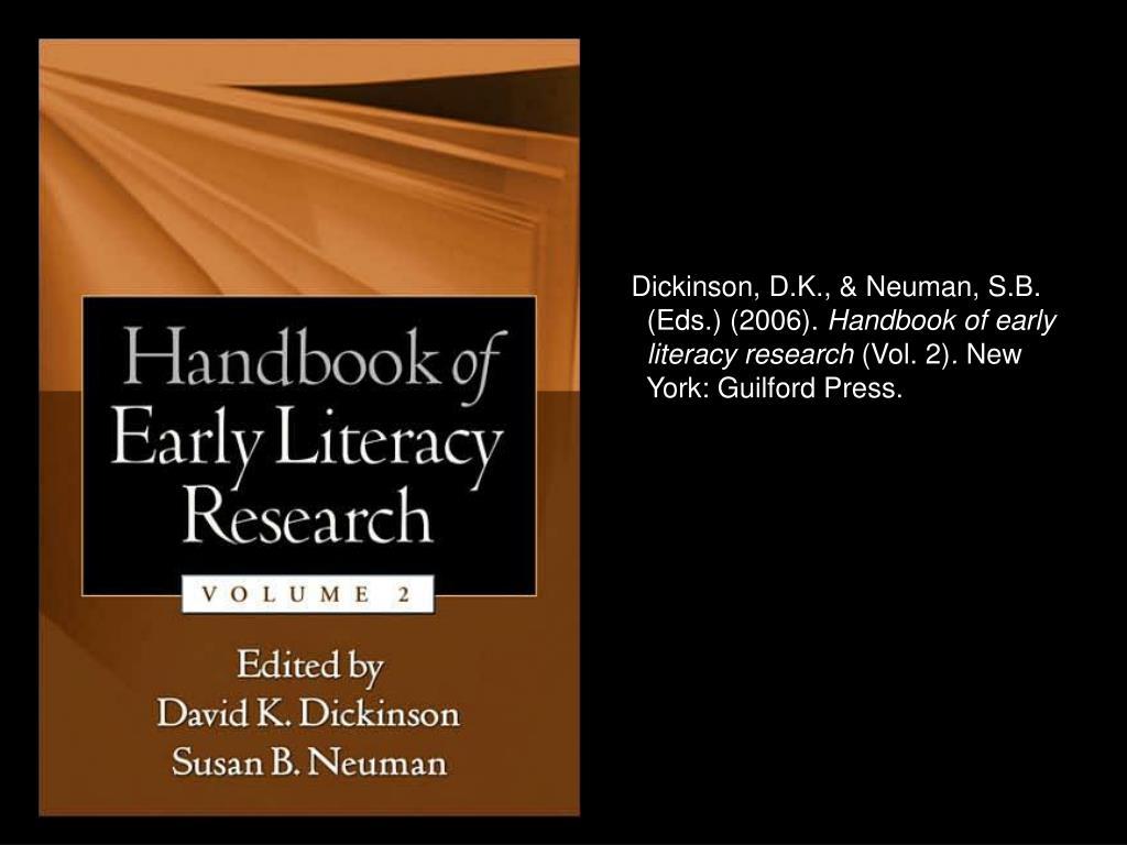 Dickinson, D.K., & Neuman, S.B.