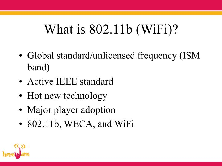 What is 802 11b wifi