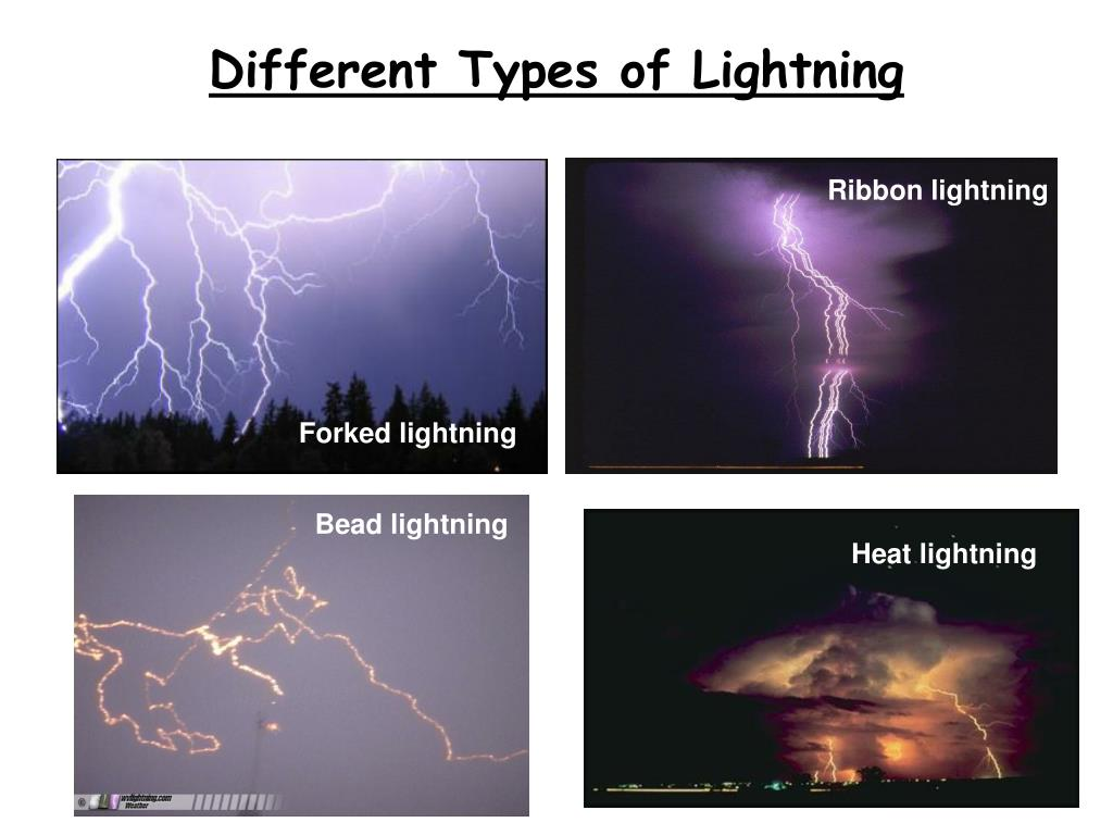 Different Types of Lightning