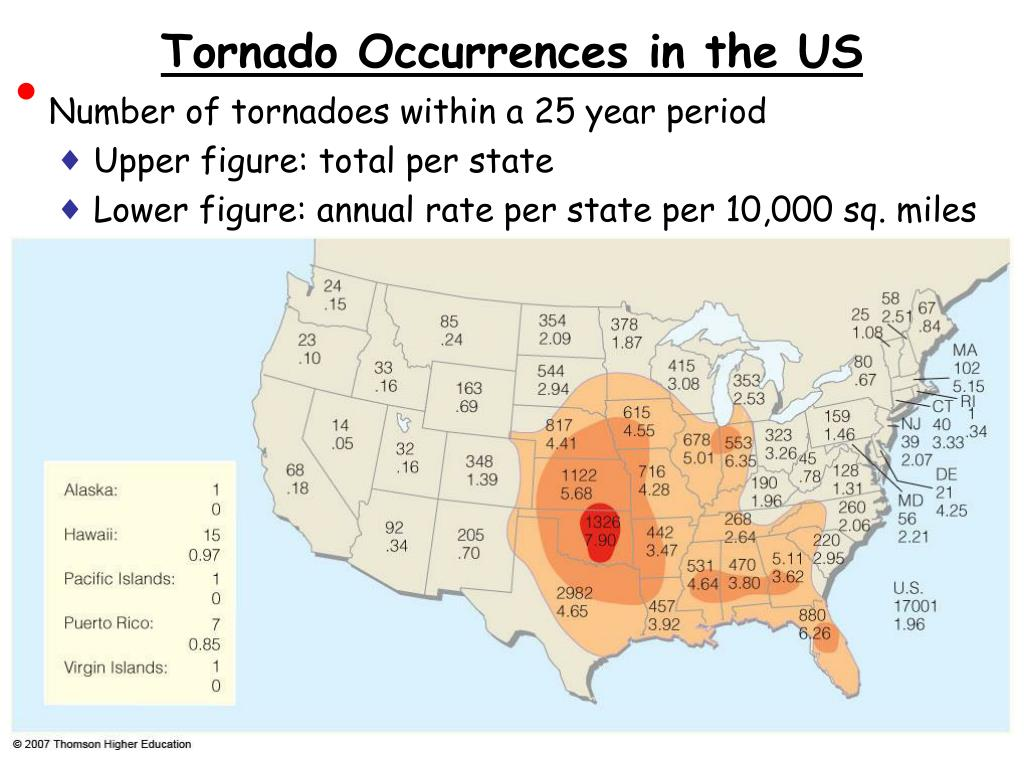 Tornado Occurrences in the US