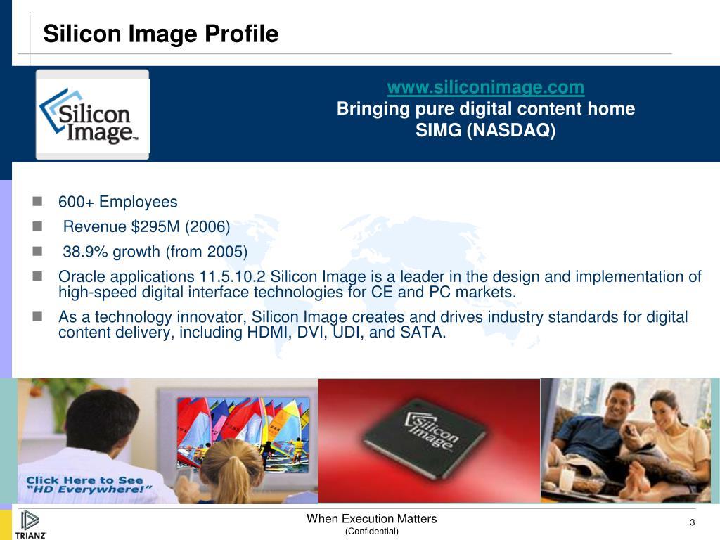 Silicon Image Profile