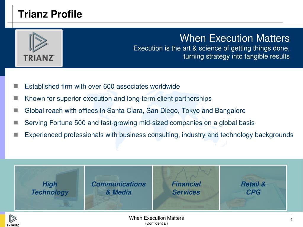 Trianz Profile