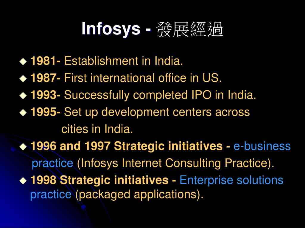 Infosys -