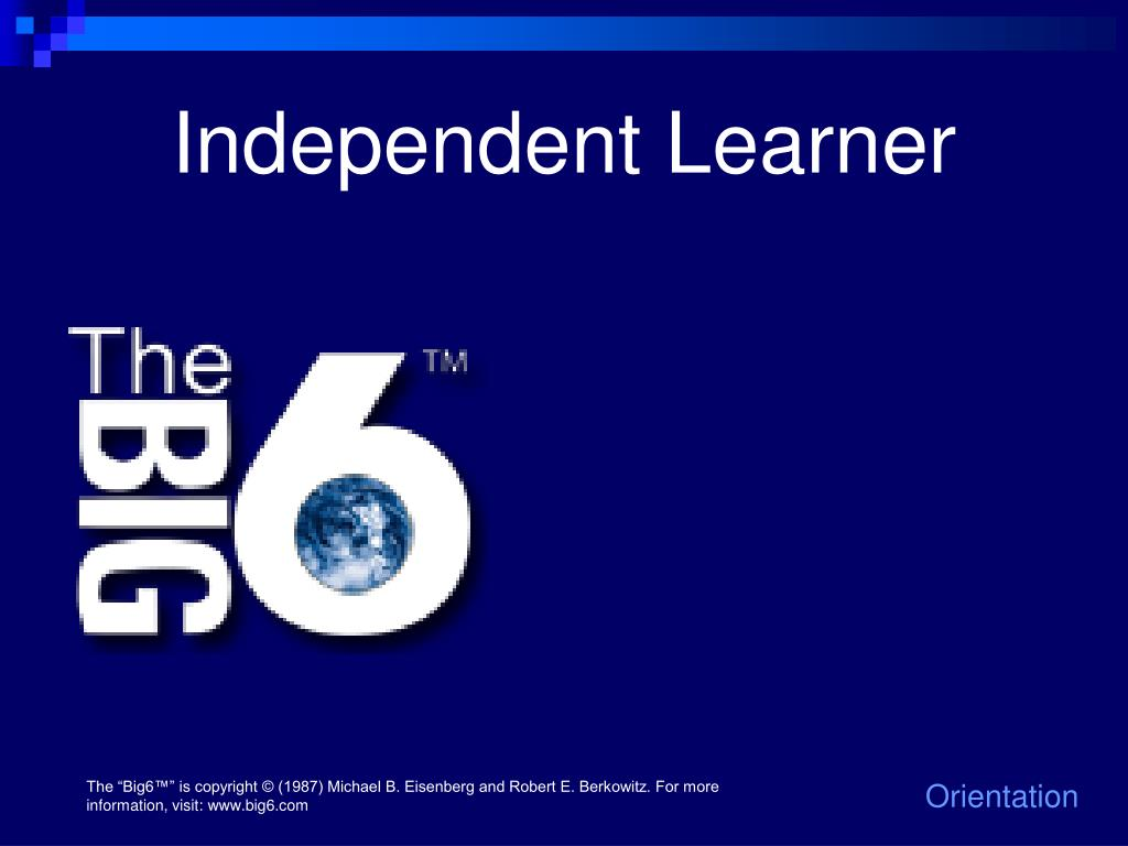 Independent Learner
