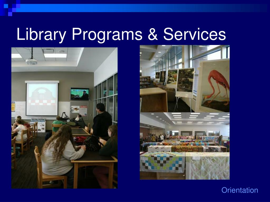 Library Programs & Services