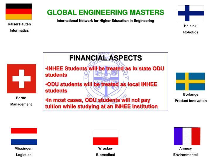GLOBAL ENGINEERING MASTERS