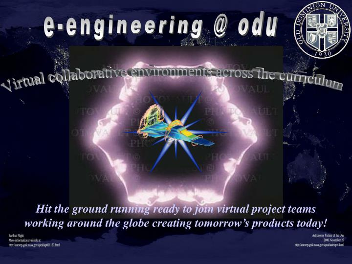 e-engineering @ odu