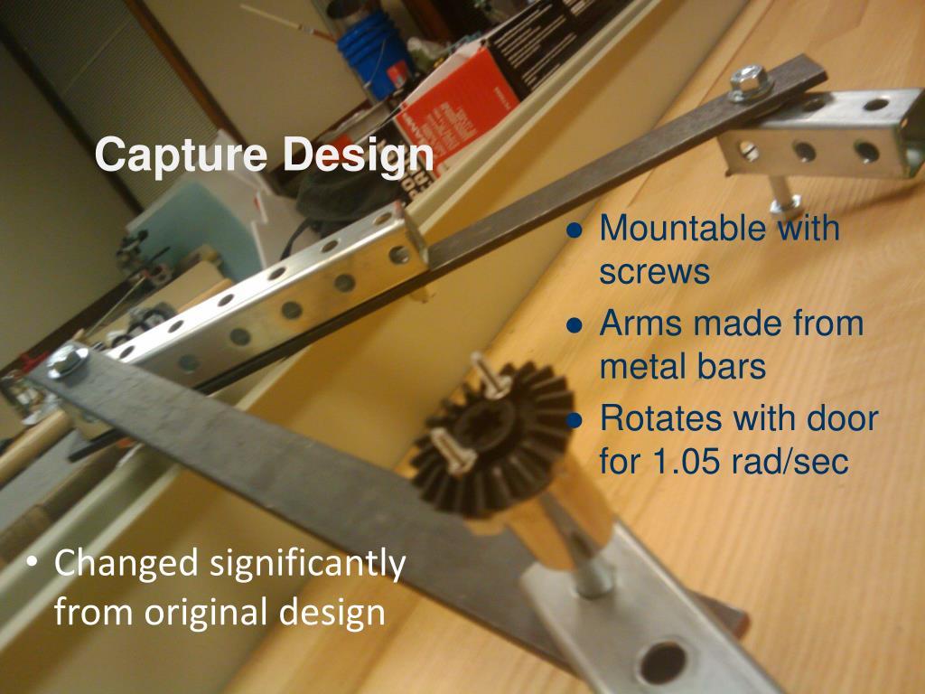 Capture Design
