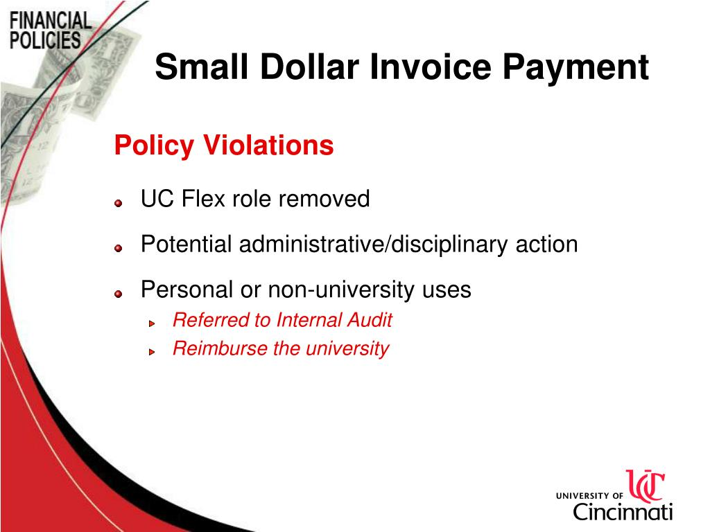 Small Dollar Invoice Payment