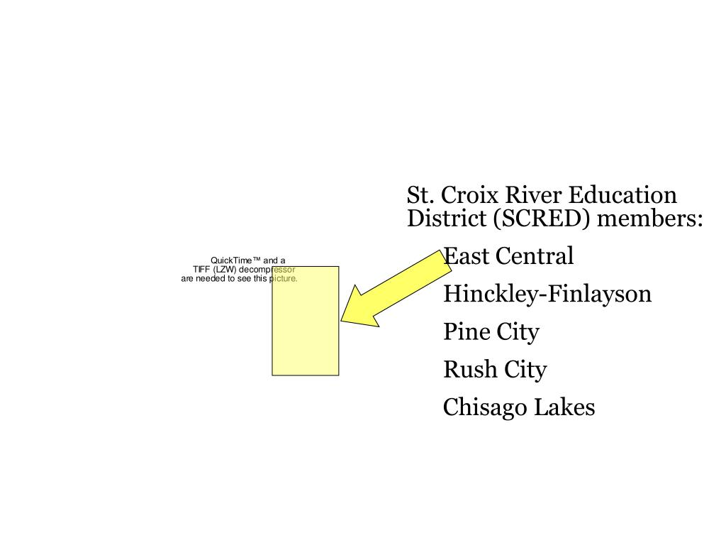 St. Croix River Education District (SCRED) members: