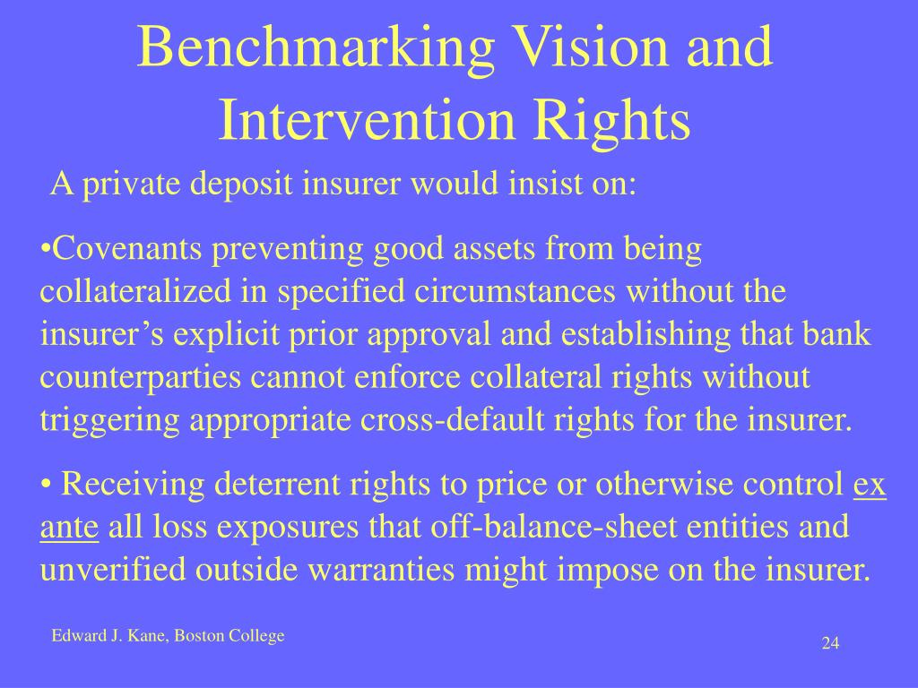 Benchmarking Vision and Intervention Rights