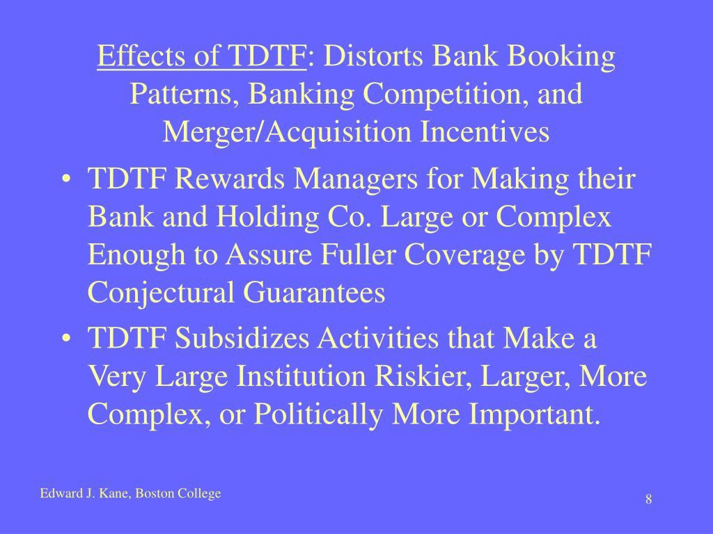 Effects of TDTF