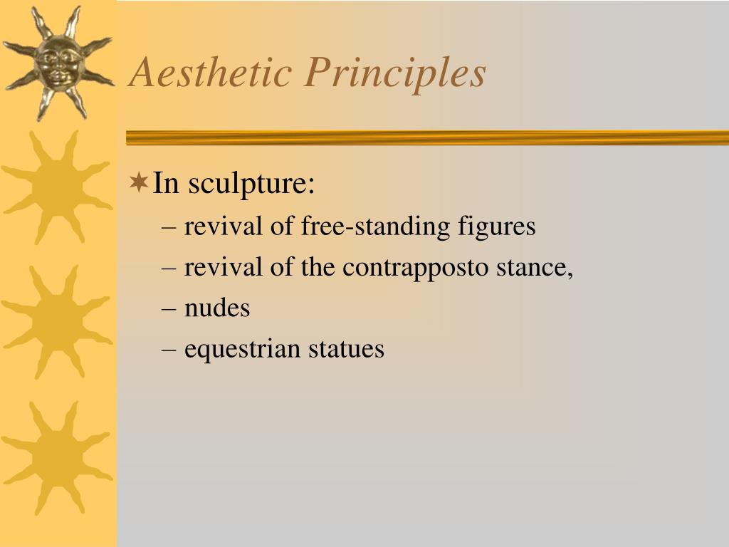 Aesthetic Principles