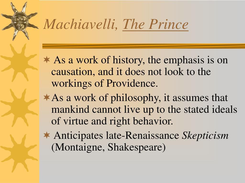 Machiavelli,