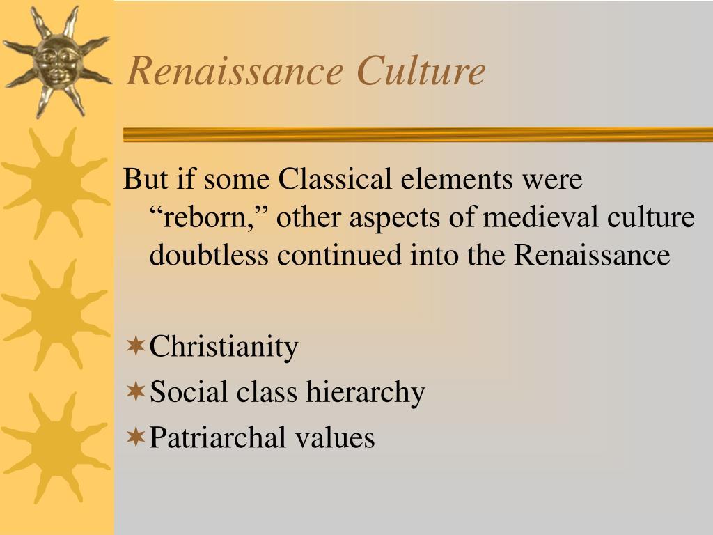 Renaissance Culture