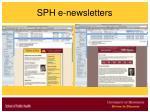 sph e newsletters12