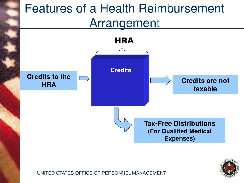 Features of a Health Reimbursement  Arrangement