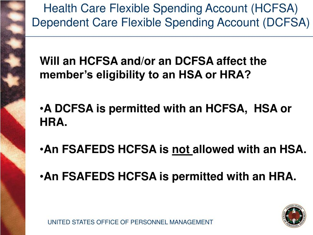 Health Care Flexible Spending Account (HCFSA)