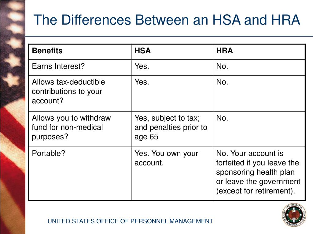 The Differences Between an HSA and HRA