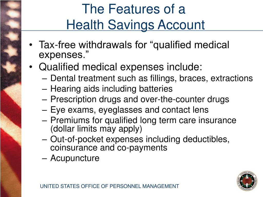 """Tax-free withdrawals for """"qualified medical expenses."""""""