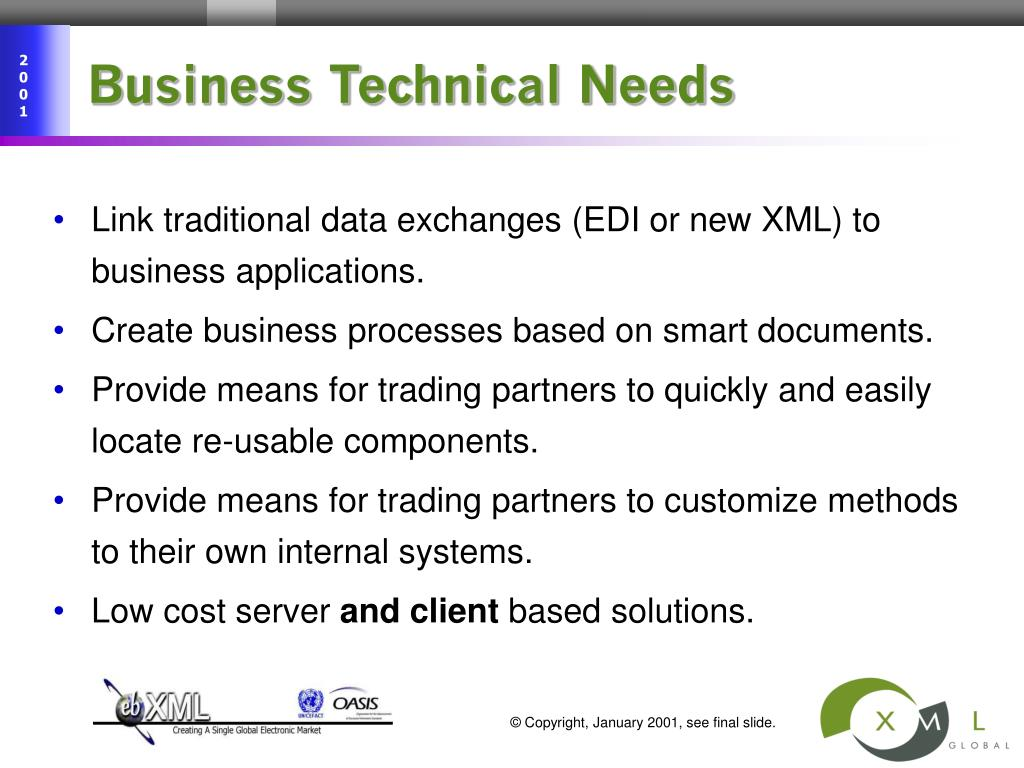Business Technical Needs