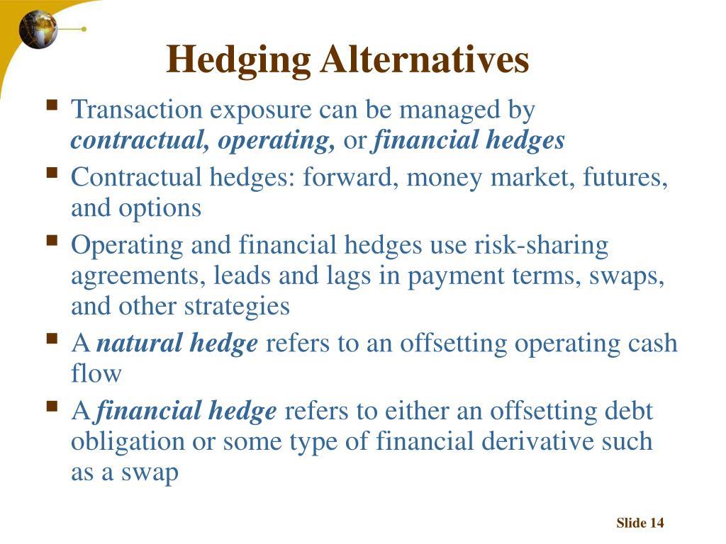 Hedging Alternatives