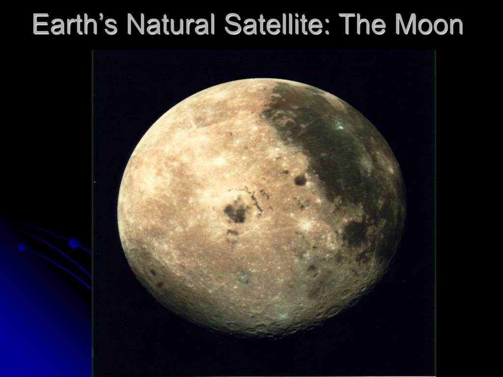 Earth's Natural Satellite: The Moon