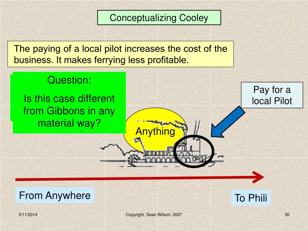 Conceptualizing Cooley