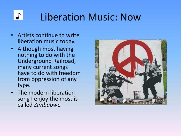 Liberation Music: Now