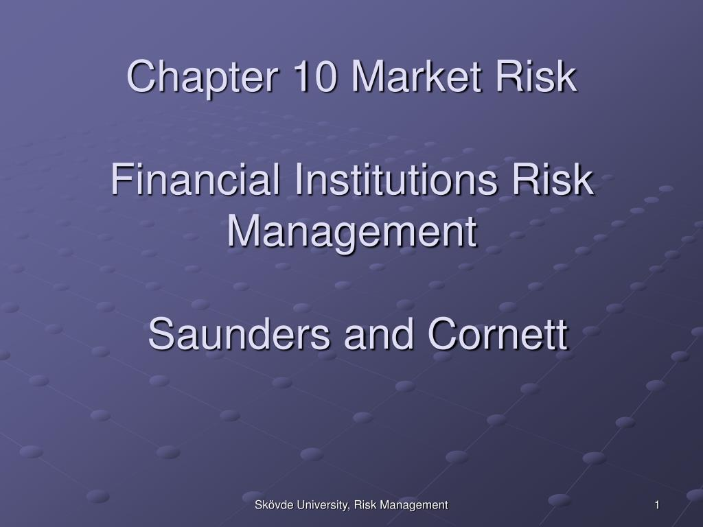Chapter 10 Market Risk