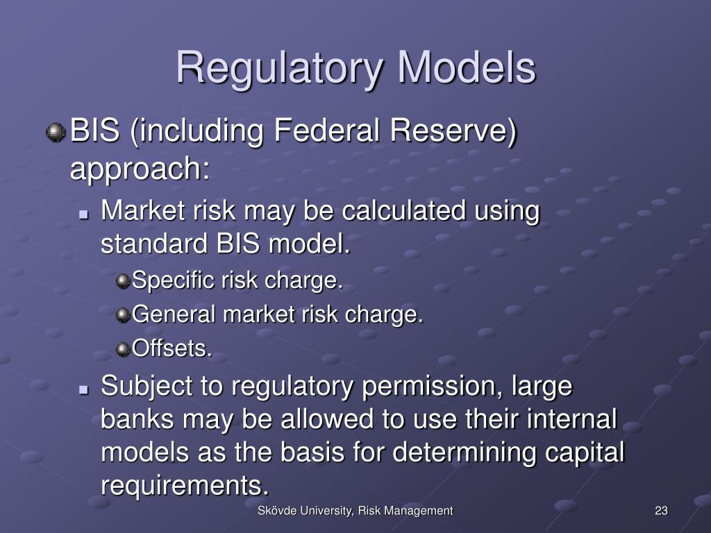 Regulatory Models