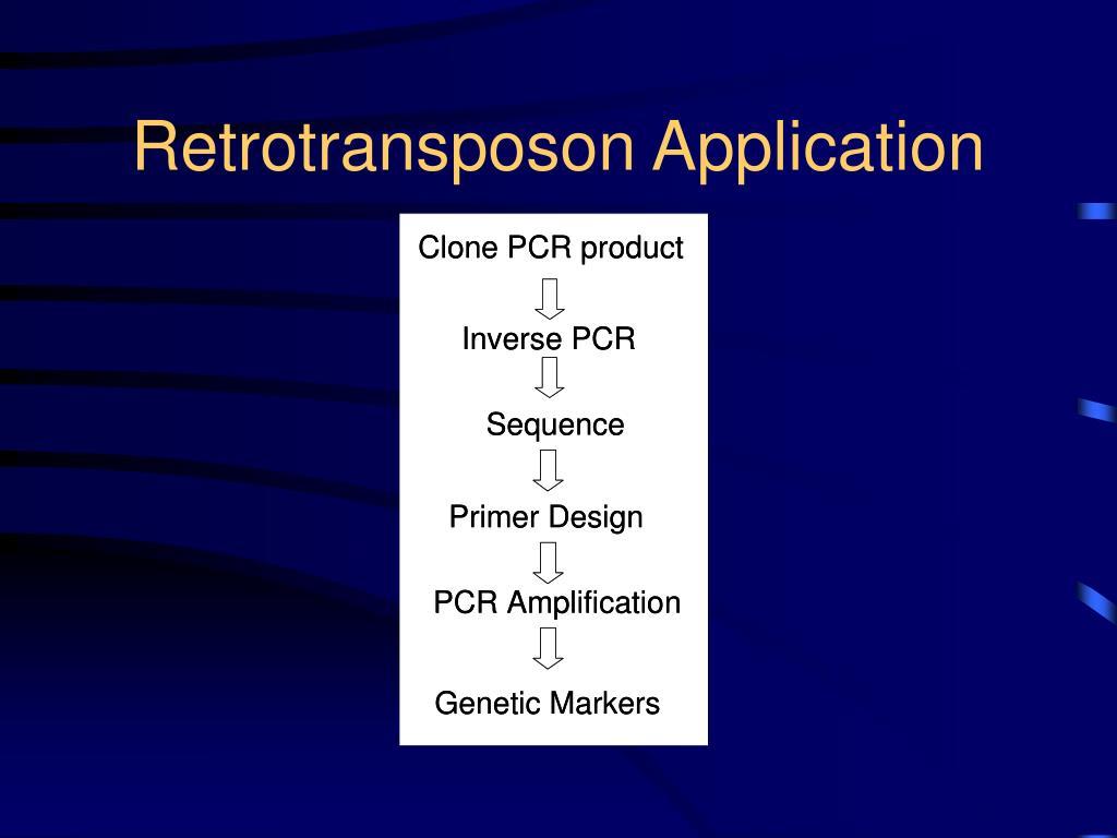 Retrotransposon Application