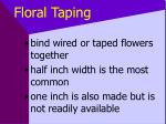floral taping39
